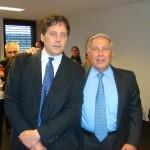 With Dr. Hamied, Sep 23, 2008 at DNDi Geneva
