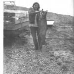 Fishing in Clam Gulch Alaska,1974